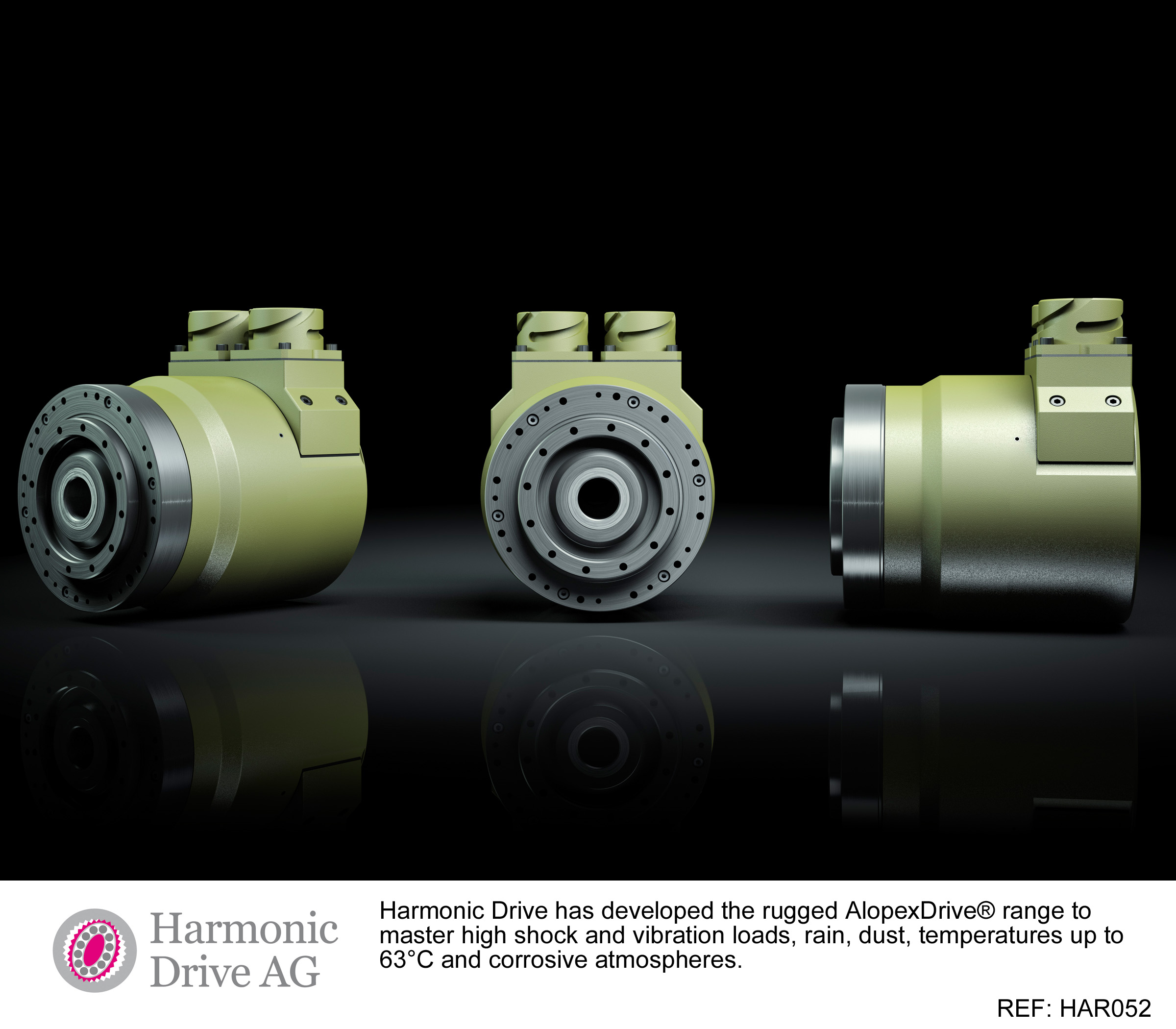 Rugged servo actuator for harsh conditions