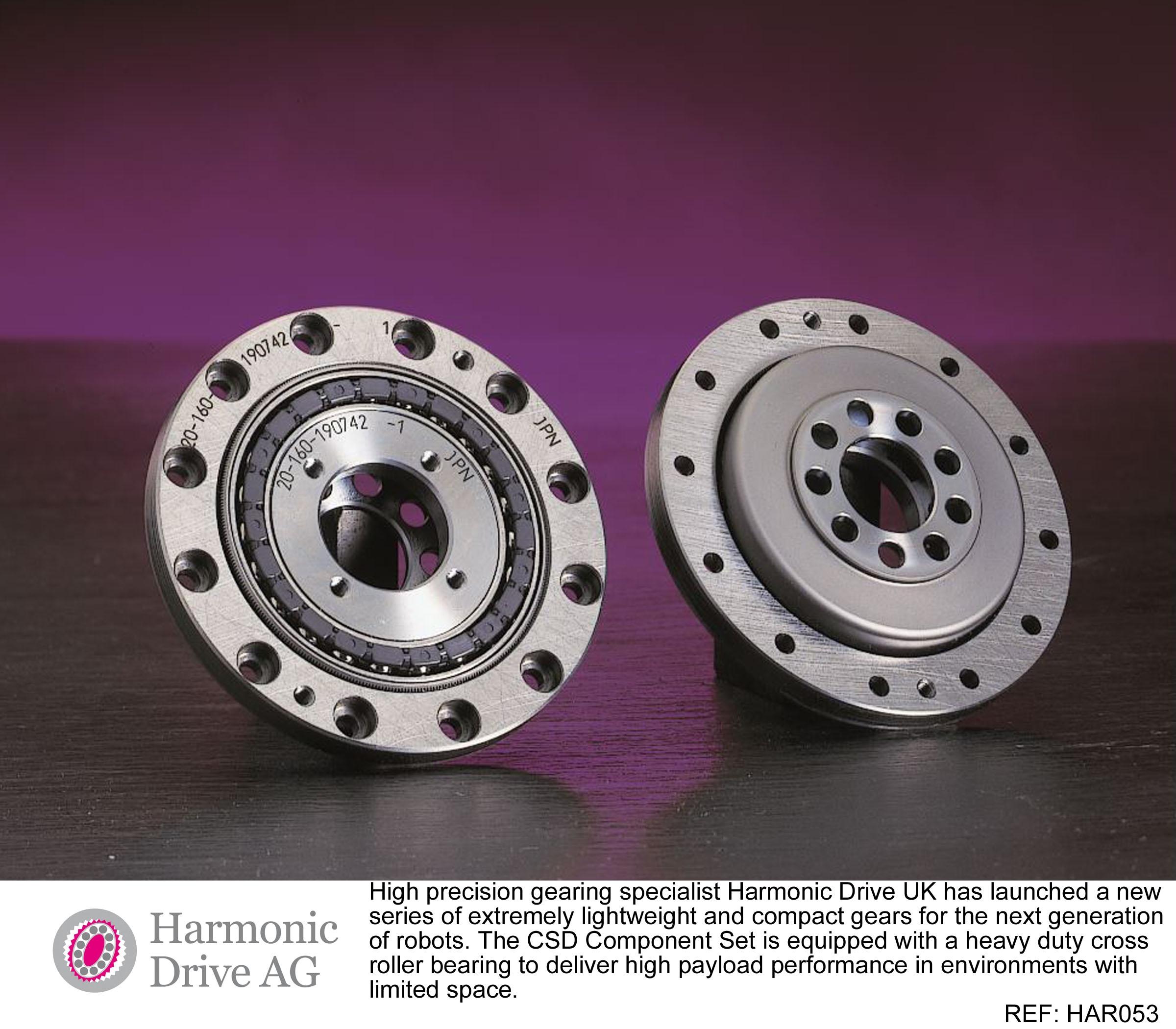 Lightweight gearing for improved robotics