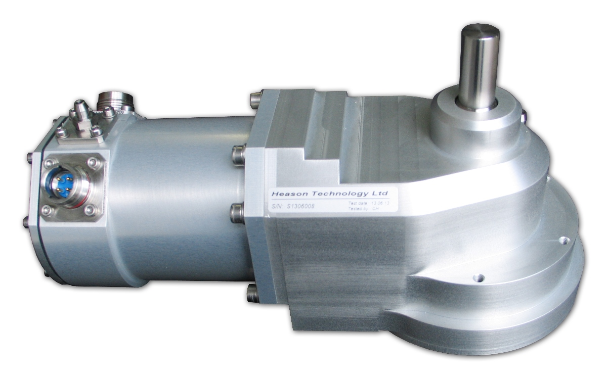 Submersible electric actuators for naval application