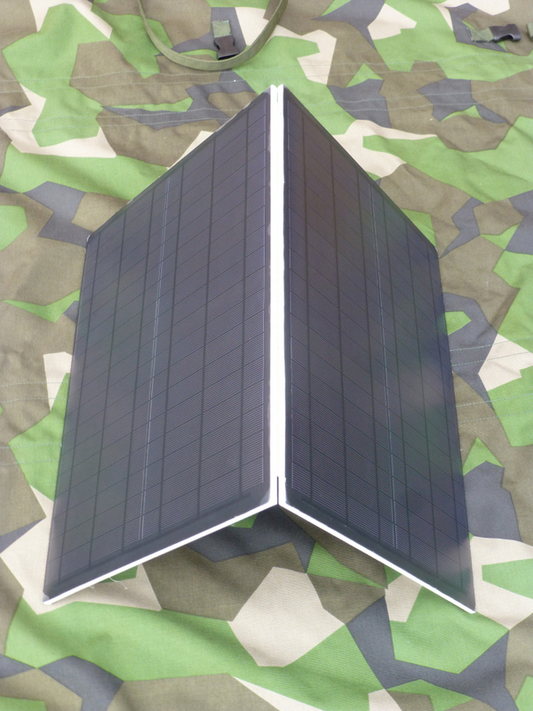 Fibre-reinforced solar panels provide ballistic protection