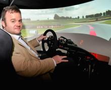 Advanced driver training VR simulator