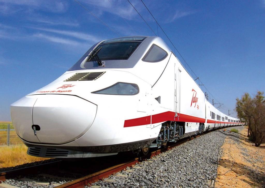 Spanish Talgo high speed train for Saudi Arabia