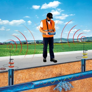 Water leak detection instrument