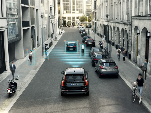 City Safety brings 5-star accolade to Volvo XC90