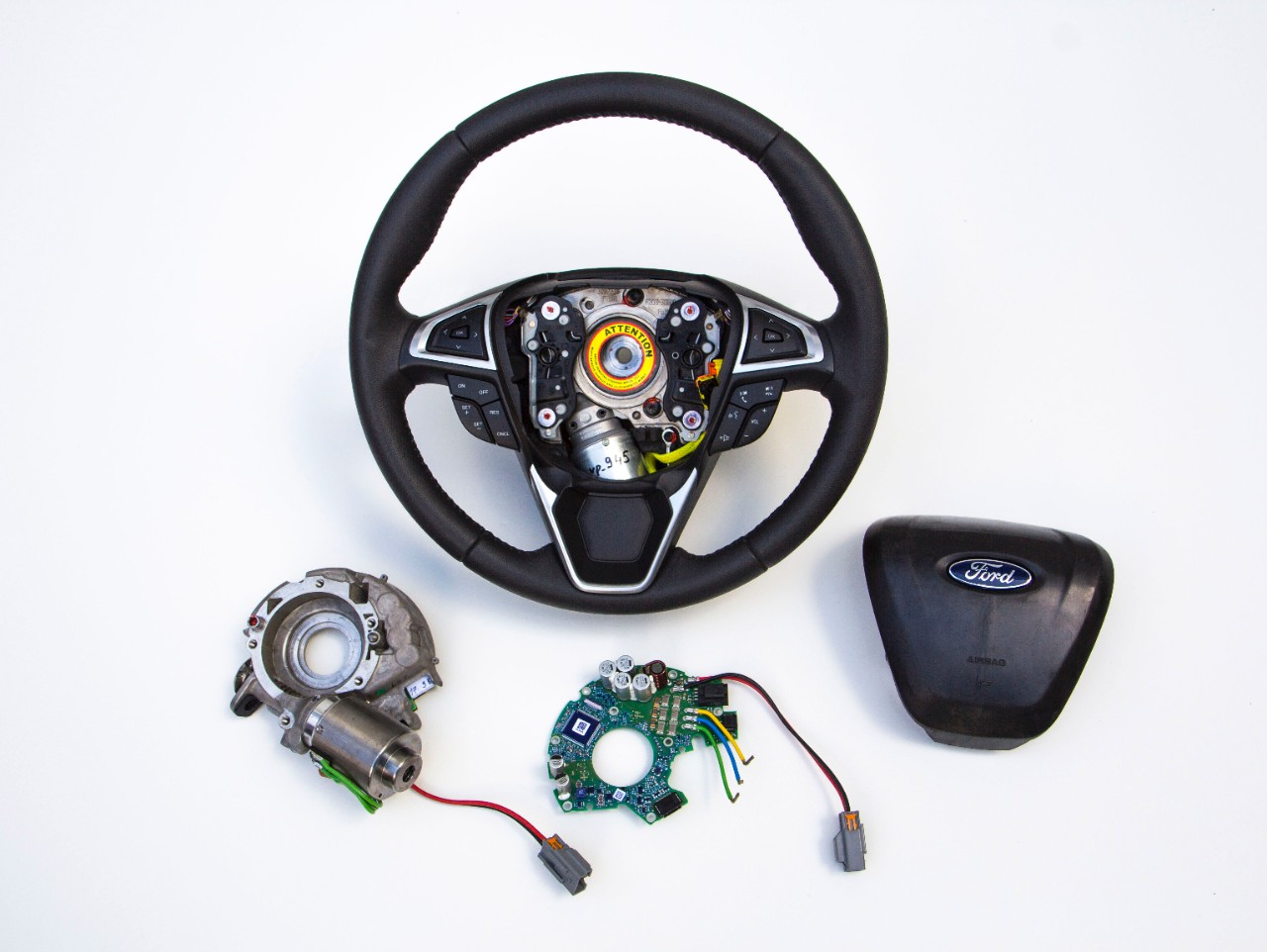 Ford adaptive steering mechanism