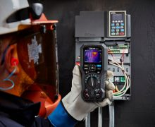 Handheld Thermal Imaging Camera for Maintenance Operations