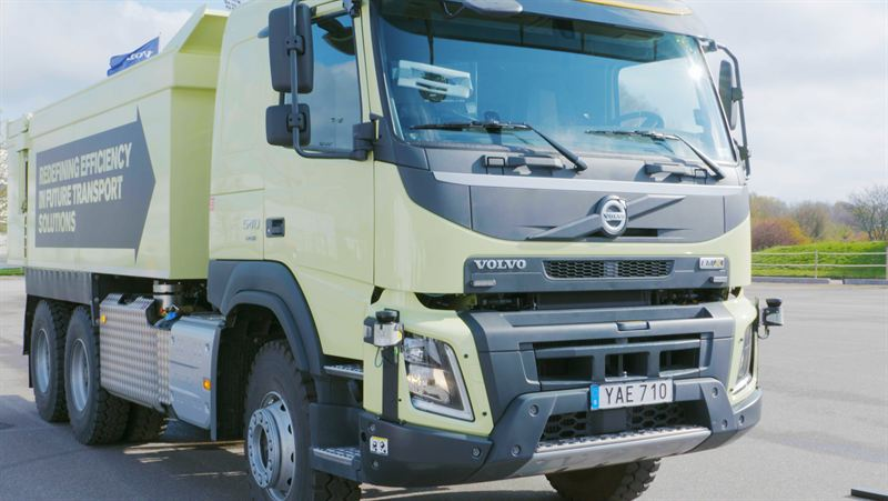 Increased automation for Volvo HGV equipment