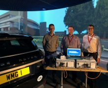 5G mmWave platform aids Warwick Manufacturing Group inside its 3xD automotive simulator