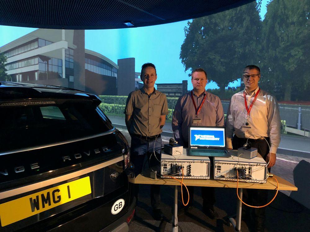 5G mmWave platform aids Warwick Manufacturing Group inside its 3xD automotive simulator
