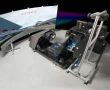 Driving simulator for advanced vehicle development at Subaru
