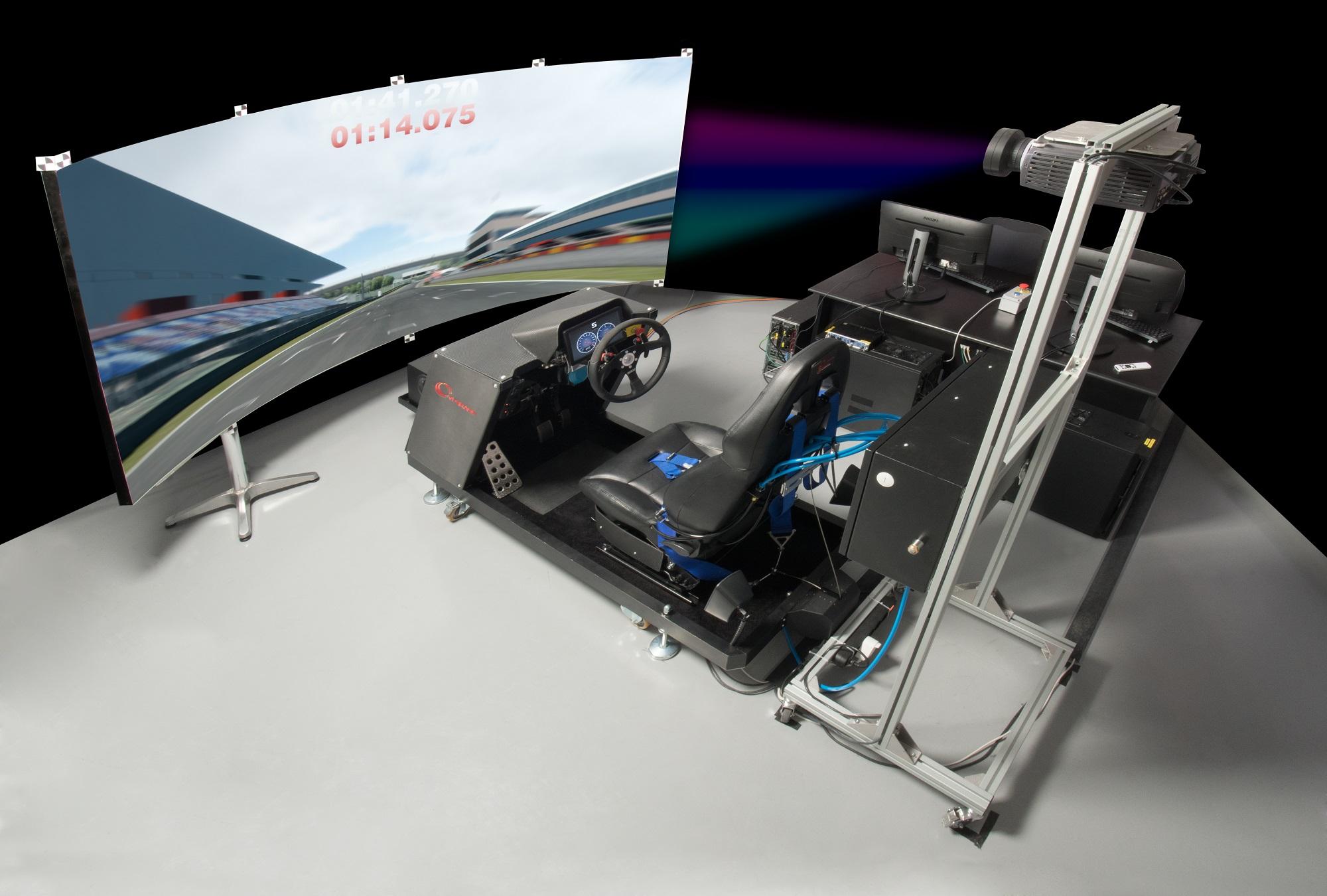 Driving simulator for advanced vehicle development at Subaru