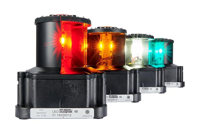 Robust LED beacons for use on marine vessels