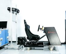 Static simulator features VI-CarRealTime and the TameTire software
