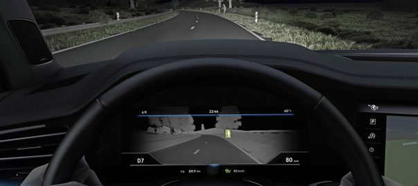 Thermal imaging improves night vision for VW drivers
