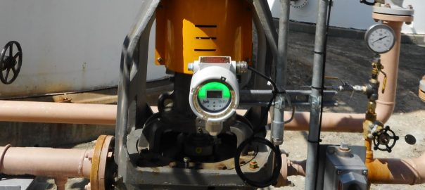 Falco fixed continuous photoionisation detector in use in chemical industry