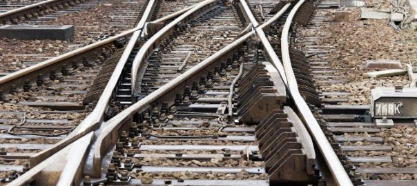 Railway points could be replaced if self-guided vehicles used