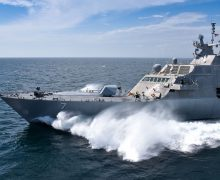 Sea trials such as those undertaken by US Navy littoral combat ship USS Detroit are punishing on ship-board electronic systems
