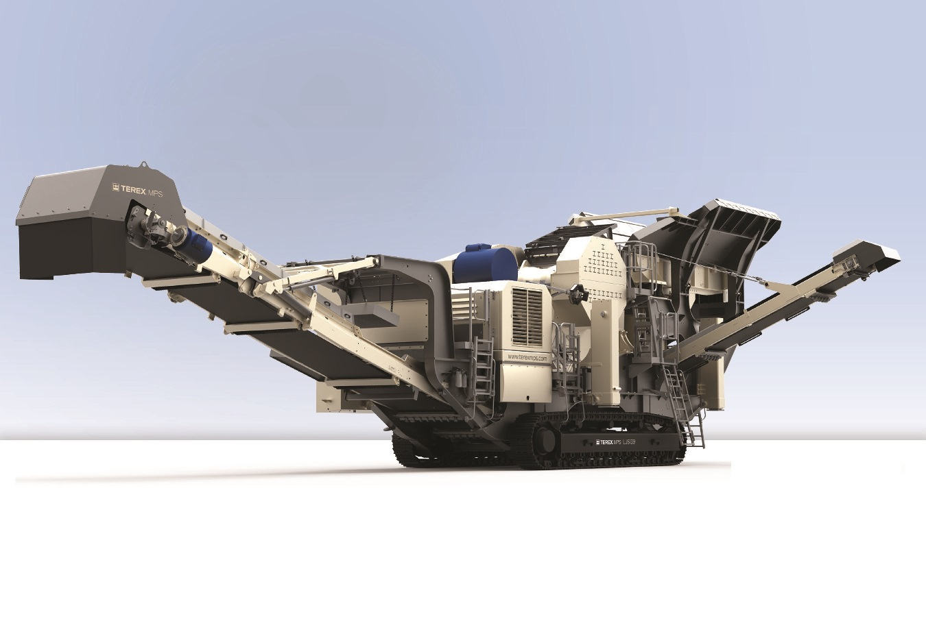 DAQ sensors measure stress loads on extreme LJ5139 jaw crusher machines