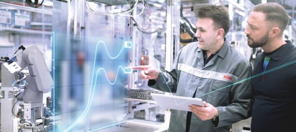The Bosch vision for the factory of the future sees people as being as indispensible as ever