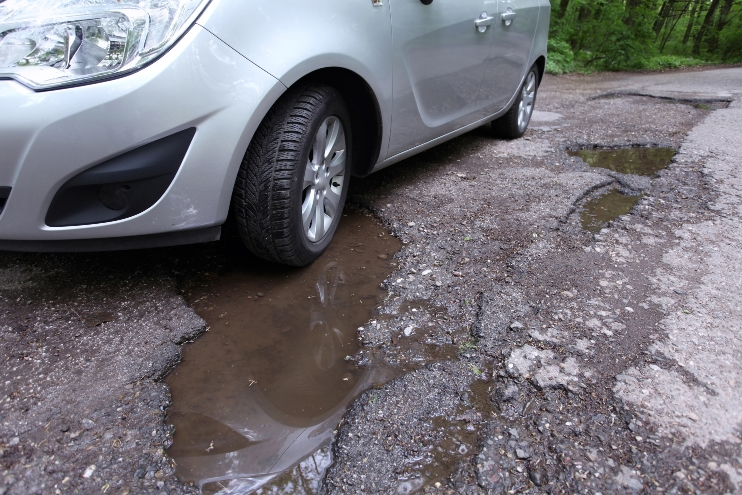 Vehicle behaviour could be used for determining the level of road deterioration