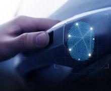 The number of minutiae matched in fingerprint patterns with stored templates determines the level of security as well as ease of use