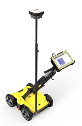 Leica DSX utility detection instrument uses ground penetrating radar (GPR) 2