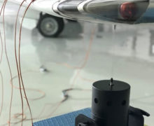 A 440N modal shaker provided random vibration input to the wing tip to replicate the required payload profile