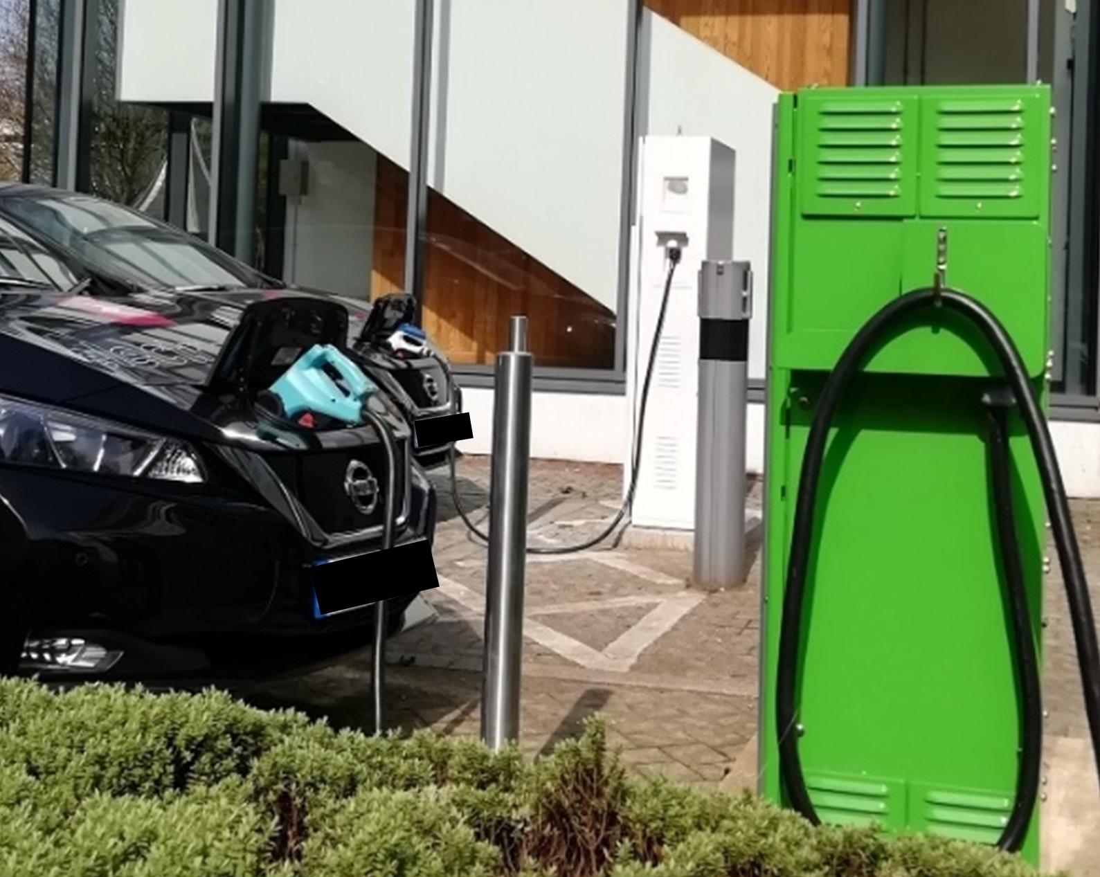 Aston University trials Vehicle-to-Grid system