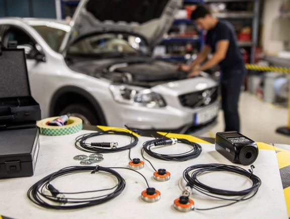Automotive NVH assessment microphones provide high accuracy measurements in harsh environments