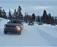 Jeep Renegade and Compass 4xe to undergo testing at Arjeplog proving ground