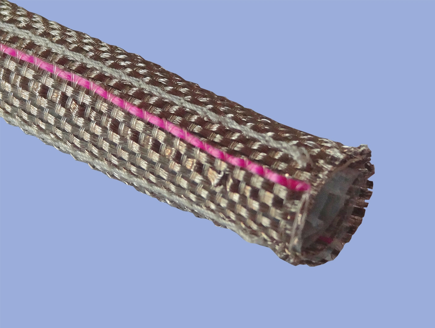RFI sleeving for aerospace cabling also provides environmental protection