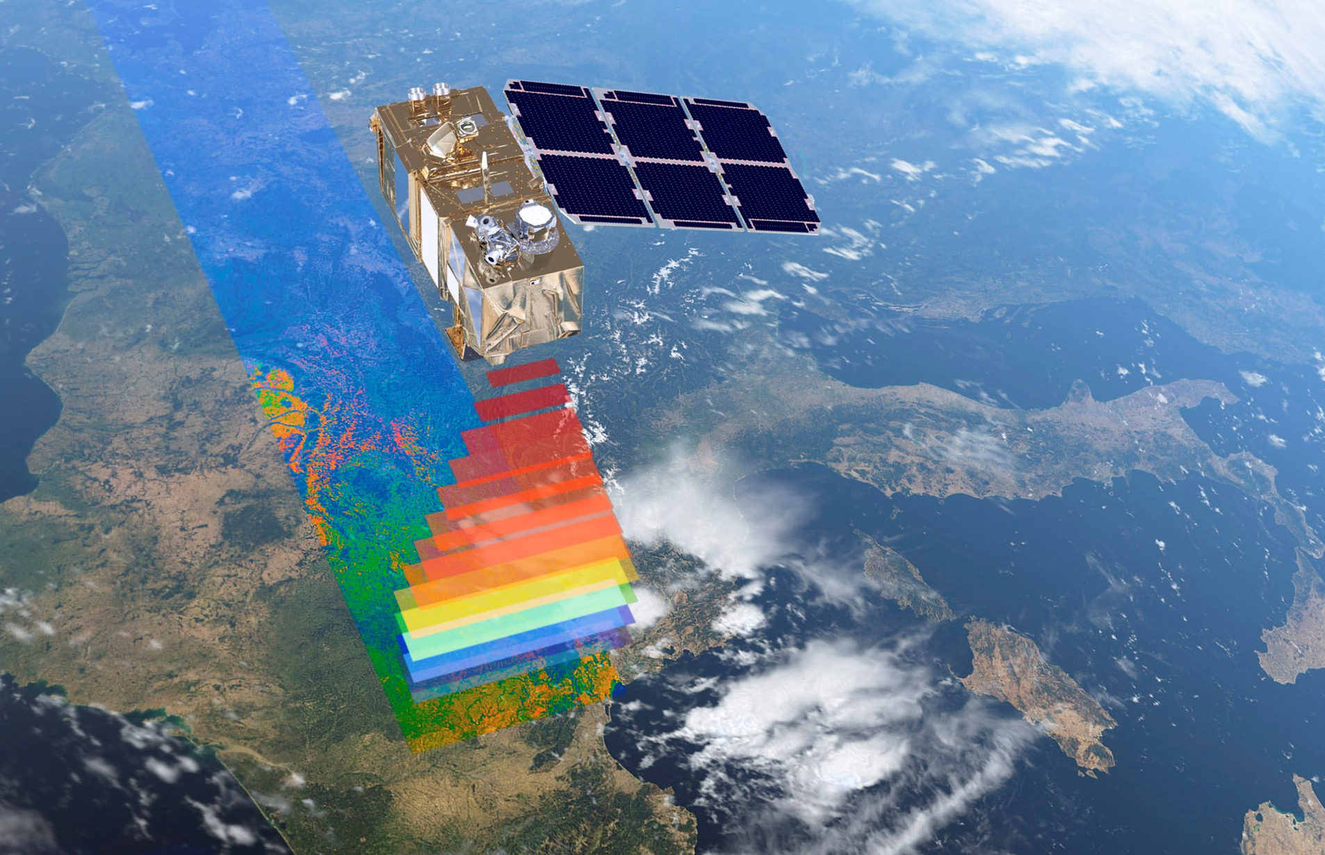 Satellites provide a global monitor