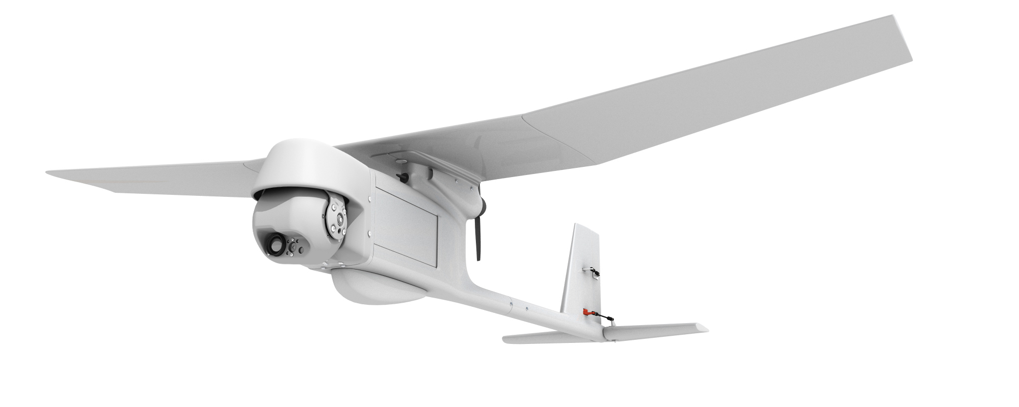Sensor laden Raven tactical UAS can be hand-launched for day or night observation