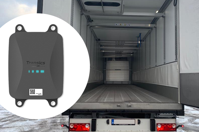 Tarpaulin Sensors and Telematics for load tracking and protection