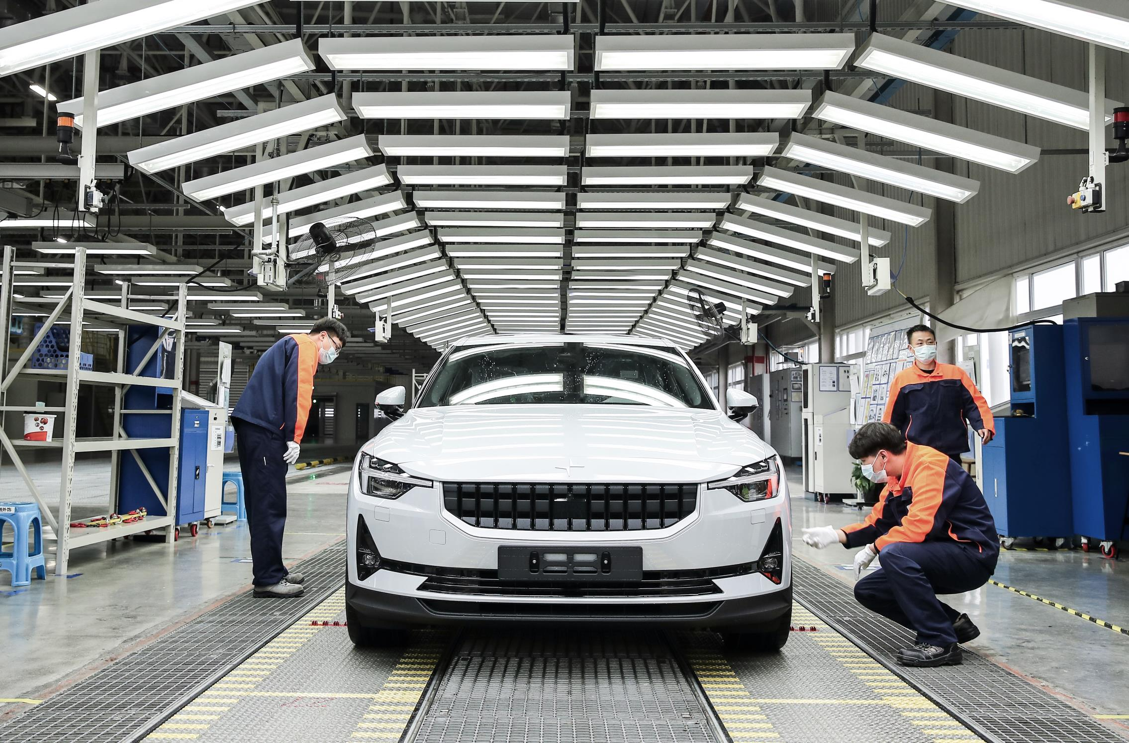 The Polestar 2 is due to leave the factor floor in April 2020