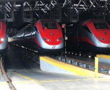 Trenitalia Frecciarossa ETR500 very high-speed trains to be serviced by Bombardier