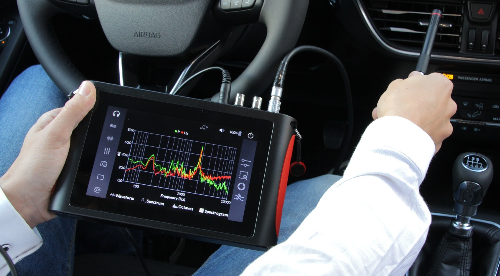 Voyager is able to provide real-time in-situ analysis capabilities for NVH specialists