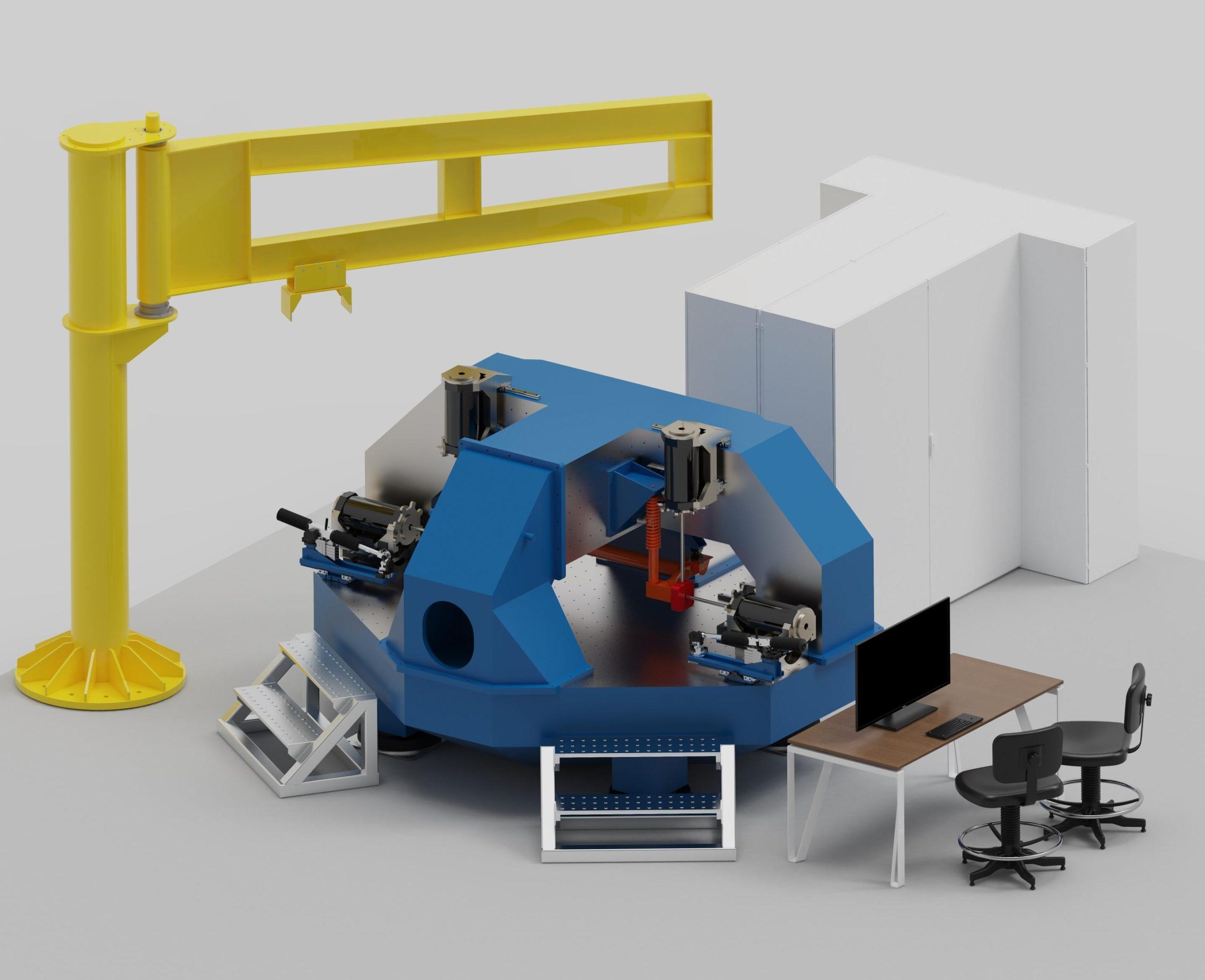 AB Dynamics ANVH 250 axle-level NVH test rig gains innovation award