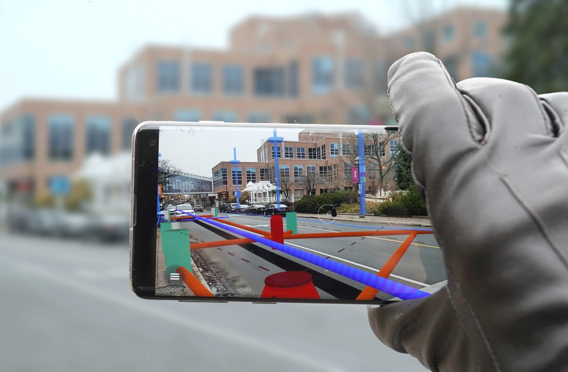 Augmented reality brings hidden infrastructure data to the surface