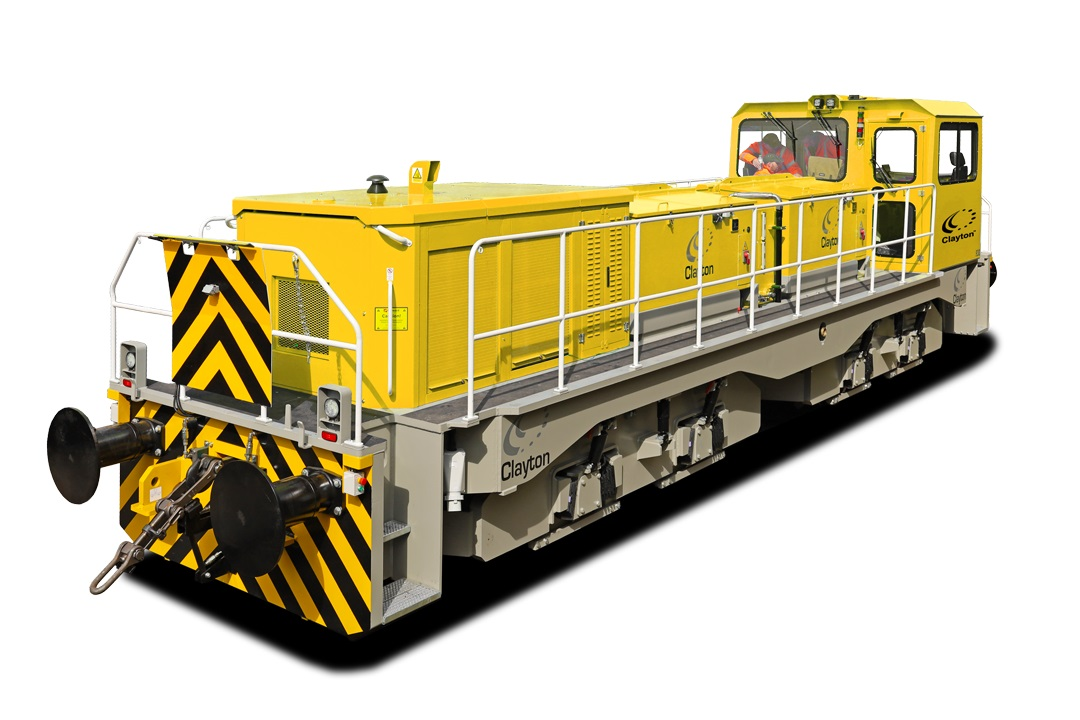 Clayton Equipment Hybrid+ CBD90 90-tonne shunting locomotive