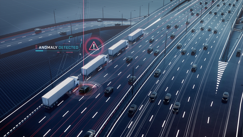 Cyber security requirement on roads network for connected cars