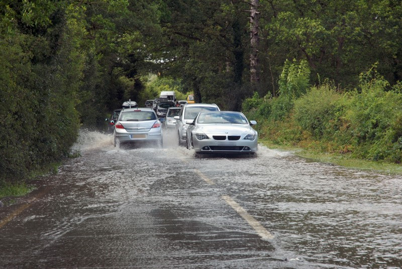 Extreme weather events have a more damaging effect on some roads than others