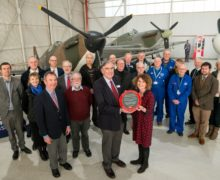 IMechE and RAF Museum Cosford celebrate UK aviation engineering heritage represented by the Supermarine Spitfire