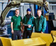 Matthew Pierson, Dalraj Singha and Ben Ellis gain benefit from apprenticeships at Cyber-Weld