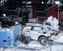 Offset Crash Testing Validates Safety of Polestar EV