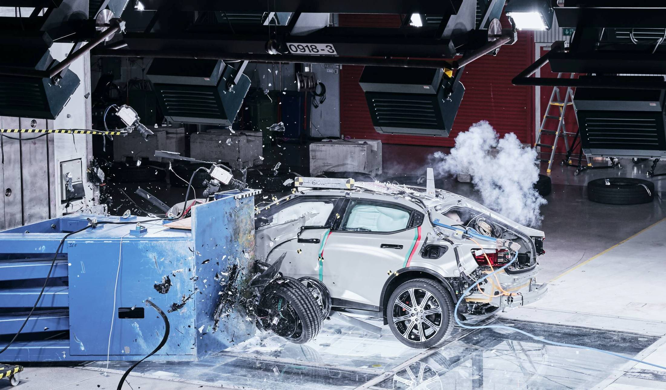 Offset Crash Testing Validates Safety of Polestar EV