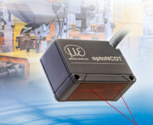 OptoNCDT distance and displacement measurement sensor for manufacturing automation