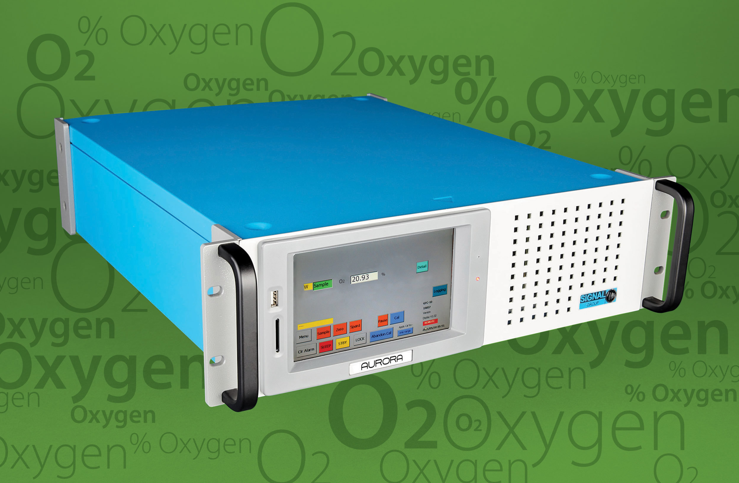 Oxygen Analyser features remote access capability for off-site configuration