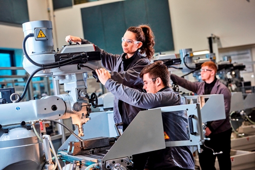 Apprenticeship programme gives young people opportunities in advanced manufacturing