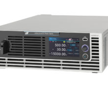 Chroma 62000D bidirectional power supplies for testing EV powertrain components